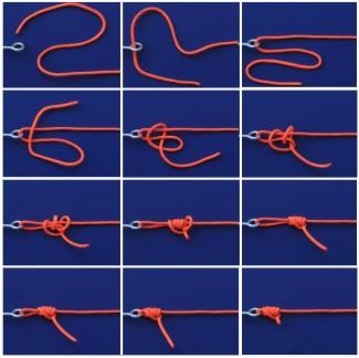 рыболовные узлы своими руками